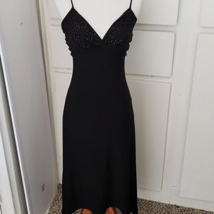 Black Formal Dress- sz. 2/4 (s)